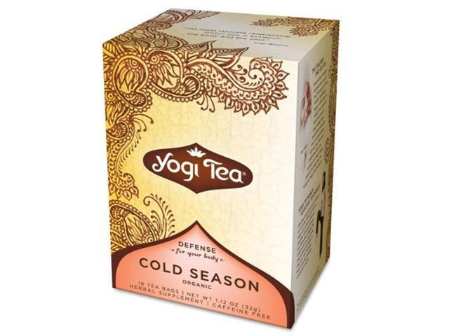 Cold Season Tea Organic - 16 - Bag