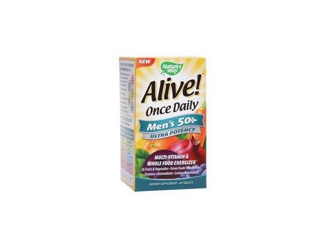 Alive Once Daily Mens 50+ Ultra Potency - Nature's Way - 60 - Tablet