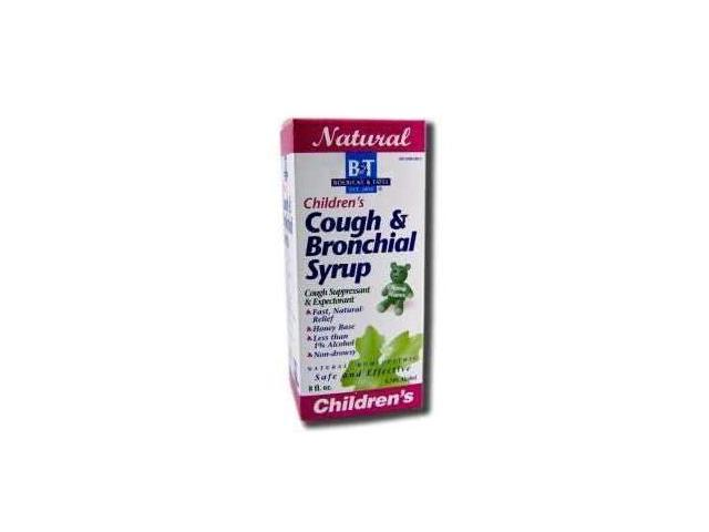 Boericke & Tafel - Children's Cough & Bronchial Syrup Cherry, 8 fl oz liquid