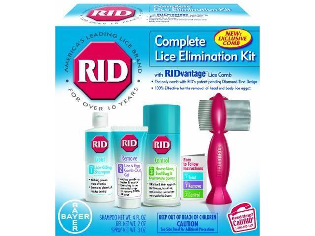 RID Complete Lice Elimination 3 Item Kit