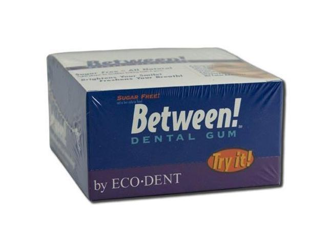 Between! Dental Gum-Wintergreen - Eco-Dent - 12 - Gum