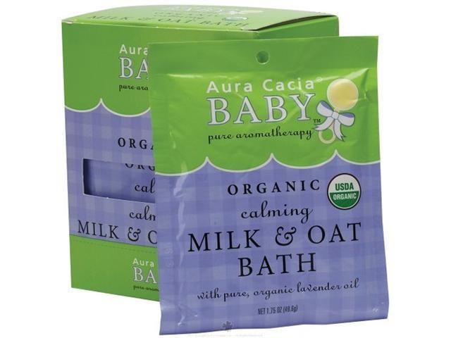 Organic Calming Milk Bath Cert. Org. - Aura Cacia - 1.75 oz - Powder