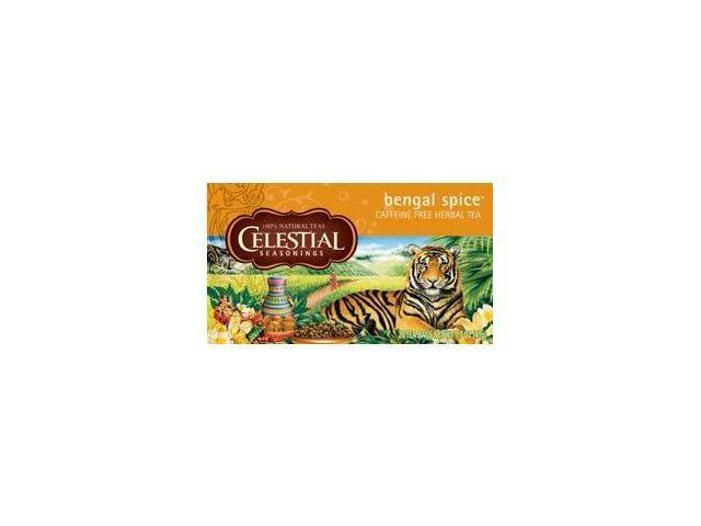 Celestial Seasonings Bengal Spice Herb Tea ( 6x20 CT)