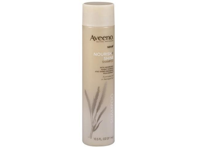 Aveeno Nourish+Shine Shampoo, 10.5 fl ounces  (Pack of 3)