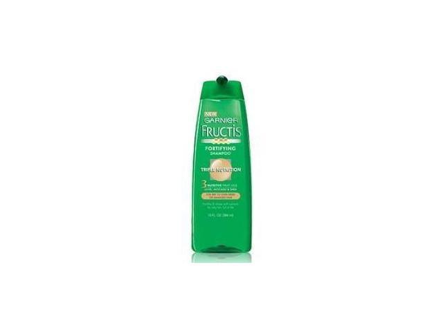 Garnier Fructis Shampoo, Fortifying, Triple Nutrition, 13 oz.
