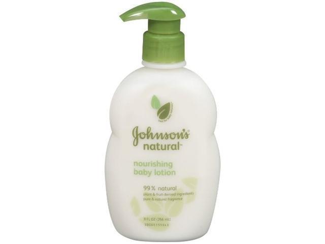 Johnson's Natural Nourishing Baby Lotion - 9 oz.