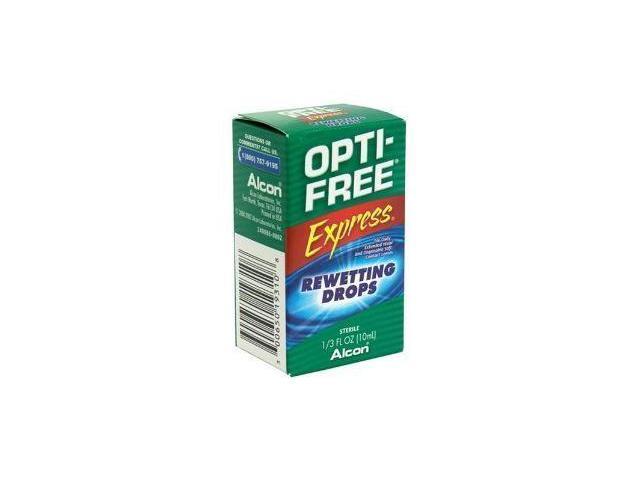 Opti Free Rewetting Drops (10 Ml)