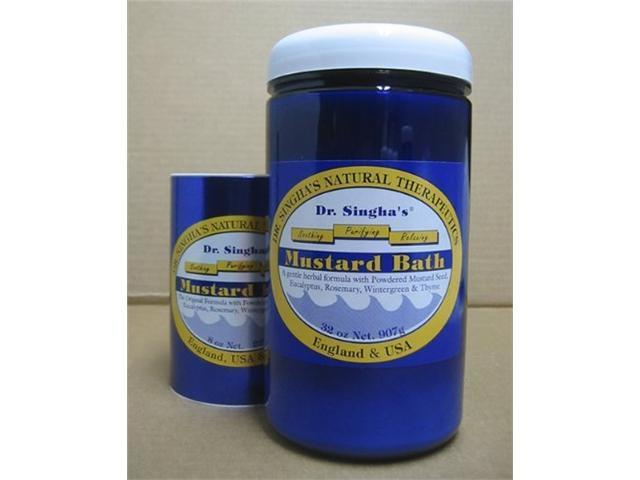 Dr Singha's Mustard Bath - Dr. Singha's - 32 oz - Powder