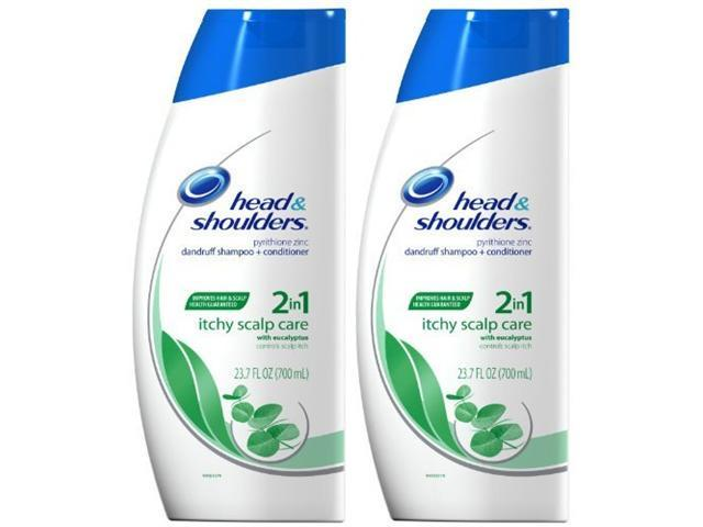 Head & Shoulders Itchy Scalp Care with Eucalyptus shampoo + conditioner 23.7 ...