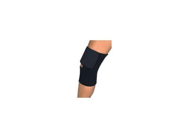 Sportaid, Knee Wrap Neoprene Black, Medium, size: 14 - 15 inches - 1 ea