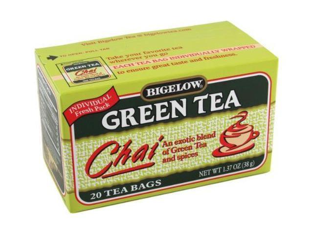 Bigelow Green Tea Chai, 20-count (Pack of6)