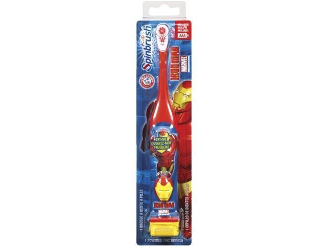Spinbrush Battery Powered Toothbrush, Marvel Heroes
