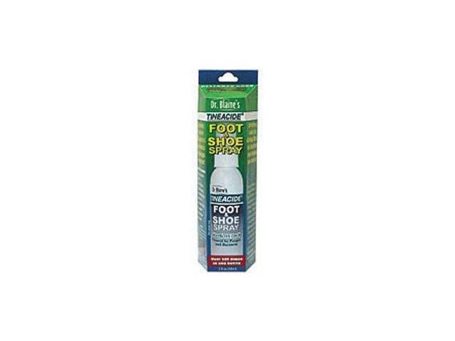 Dr. Blaine's Tineacide Foot And Shoe Spray, 2-Ounce Bottle