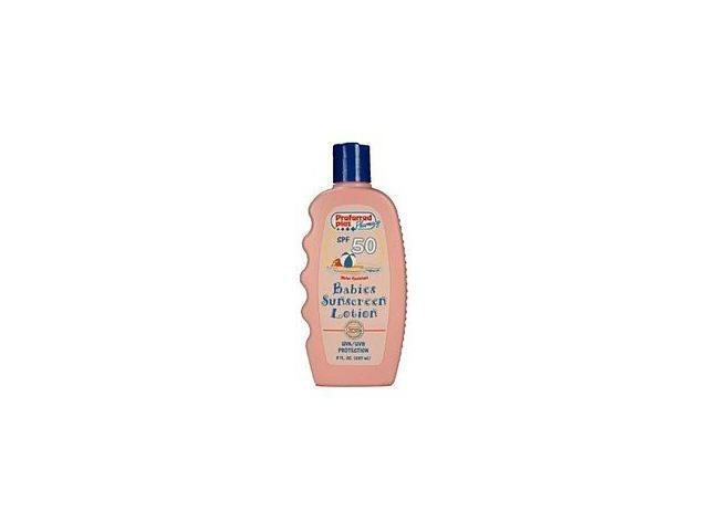 Sunscreen Lotion Baby, Spf 50 - 8 Oz