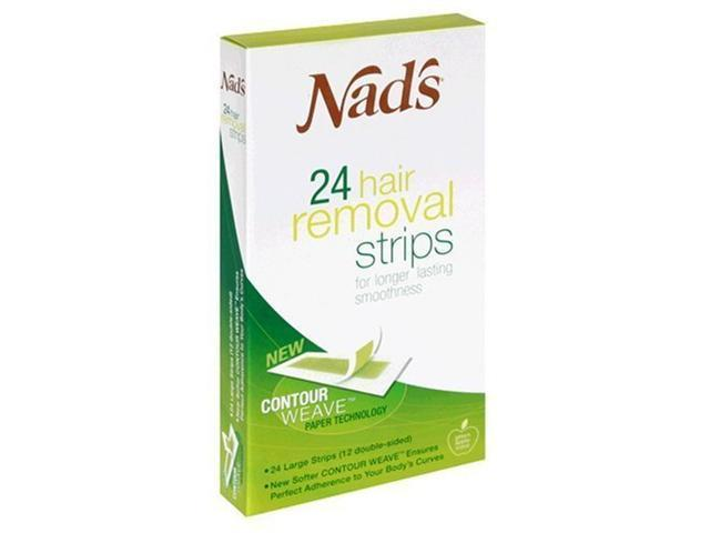 Nad's Hair Removal Strips 24's For Body
