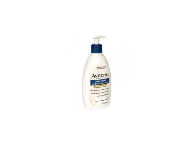 Aveeno Moisturizing Lotion, 24hr, Skin Relief 12 fl oz (354 ml)