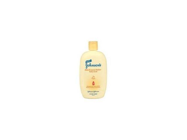 Johnson's No More Tears Baby Wash, Shea & Cocoa Butter, 15 oz.
