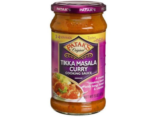 recipe: pataks tikka masala curry sauce [34]