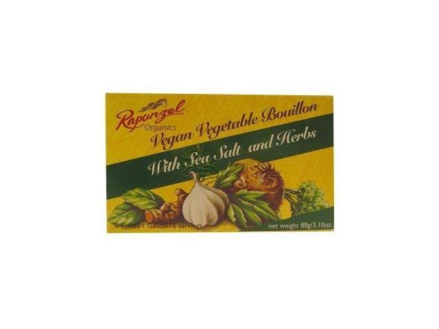 Rapunzel Bouillon Vegetable with Herbs 3.10 oz. (Pack of 12)