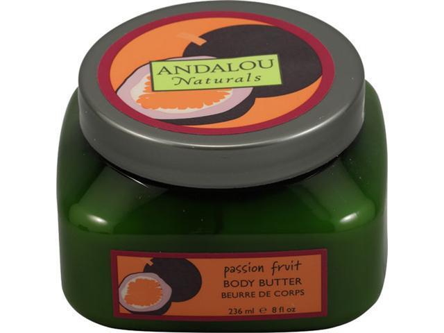 Passion Fruit Body Butter - Andalou Naturals - 8 oz - Cream