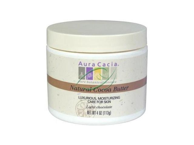 Pure Cocoa Butter - Aura Cacia - 4 oz - Butter