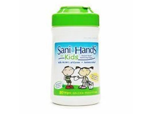 SANI-HANDS INST SANI WIPES KDS Size: 80