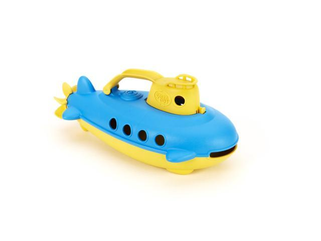 Green Toys 1203801 Submarine Yellow Cabin