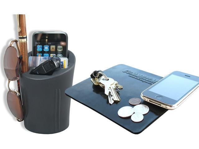 CommuteMate Dash Grip / Cell Cup Combo Pack - Cup Holder Cell Phone Organizer & Sticky Dash Mate