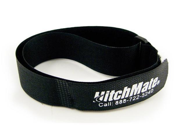 25 Pack - HitchMate Black QuickCinch Velcro Straps - 1