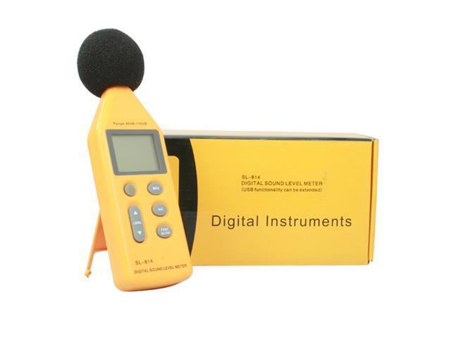 Handy Digital Sound Noise Level Meter Decibel Pressure Logger w/ Tripod Mounting