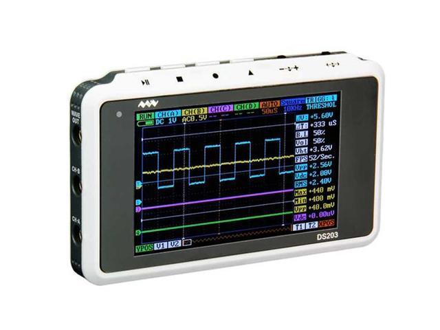 ARM DSO203 Nano V2/Quad Pocket Digital Oscilloscope