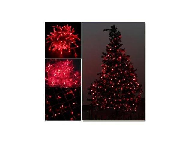 AGPtek 10M 100-LED Connectable Christmas Party String Red Light