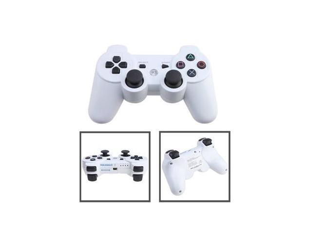AGPtek XC3-2 Wireless Bluetooth Game Controller for PS3/PlayStation 3 - White
