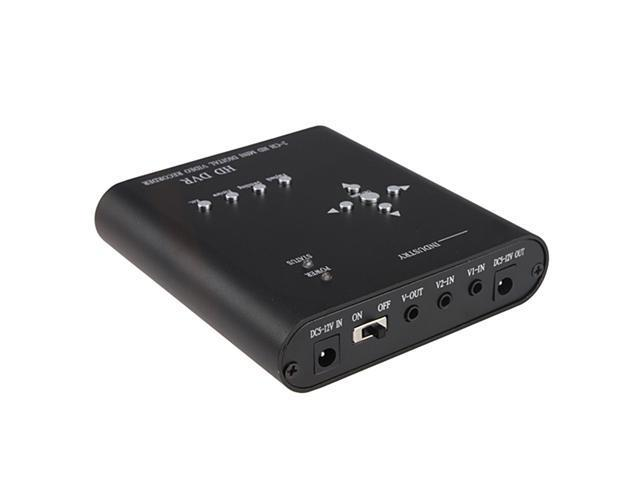 12V USB Security CCTV DVR Video Audio SD Card Recorder Motion Detection System