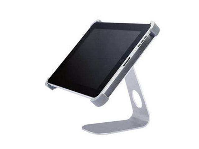 Aluminum 360° Rotable Desktop Holder Cradle Mount for Apple iPad 4G, New iPad, iPad 2, iPad