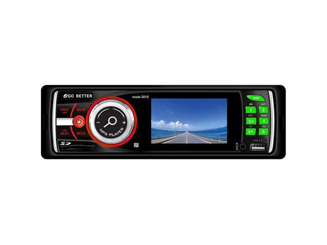 """3"""" TFT LCD Car Audio Stereo In-Dash DVD/CD/MP4/USB/AM/FM Radio Player w/ USB and SD Card Inputs"""