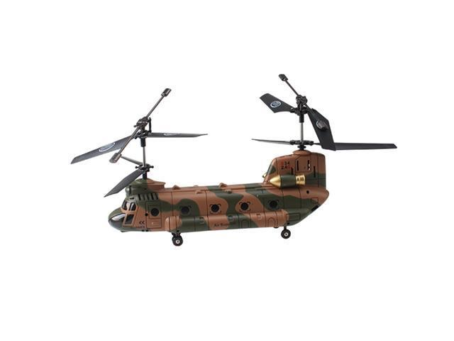 "Genuine Syma S34 3ch 3 channel Chinook 18"" RC Helicopter LED Light/Gyro/2.4Ghz Excellent Frequency and Bandwidth/Latest Model"
