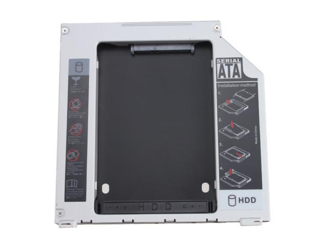 """SATA 2.5"""" / 9.5mm 2nd Hard Disk Drive Caddy Adapter for Macbook Pro MB374LL/A, MB375LL/A, MB024LL/A, MB700LL/A, MB721LL/A, ..."""