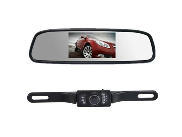 "AGPtek GH27 4.3"" TFT Car LCD Monitor + Night Vision Rear View Backup Camera"