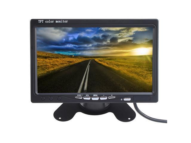 "AGPtek GH26 7"" TFT LCD Rear View Monitor w/ Wireless Night Vision Car Reverse Backup Camera Kit"