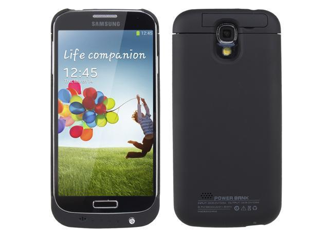 3200mAh Power Bank Externa Backupl Battery Case for Samsung Galaxy S4 SIV i9500 (Black)