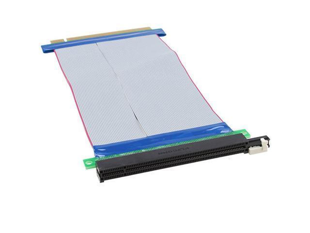 PCI-e 16X Slot Riser Card Extender Extension Cable Flexible Cable
