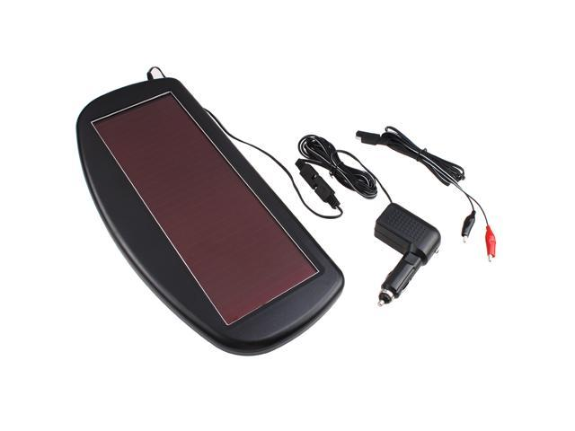 1.5 Watt 12V Solar Panel Battery Charger for Cars, RVs, SUVs, Boats, Motorcycles