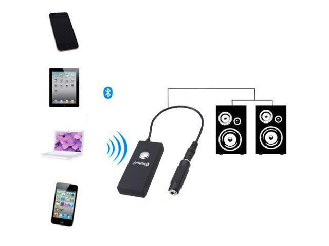 Wireless Bluetooth A2DP 3.5mm Stereo HiFi Audio Dongle Adapter Receiver