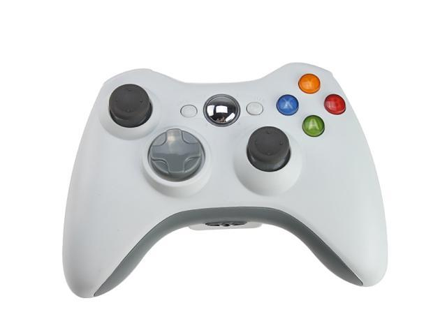 Wireless Controller Game Pad for Xbox 360 - White