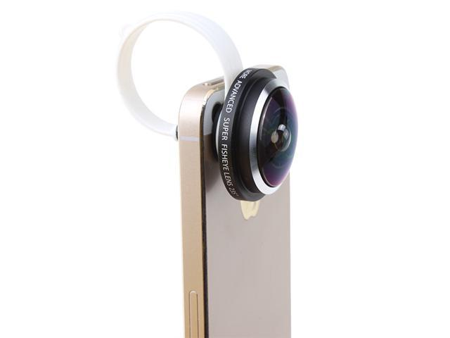 Universal Super More Advanced 235 Degree Detachable Clip Fish Eye Lens Camera for Cell Phone