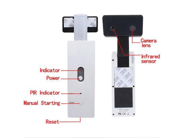Goscam U5801Y Wi-Fi Door Camera w/ Build In PIR Sensor - Support ios/Android Device