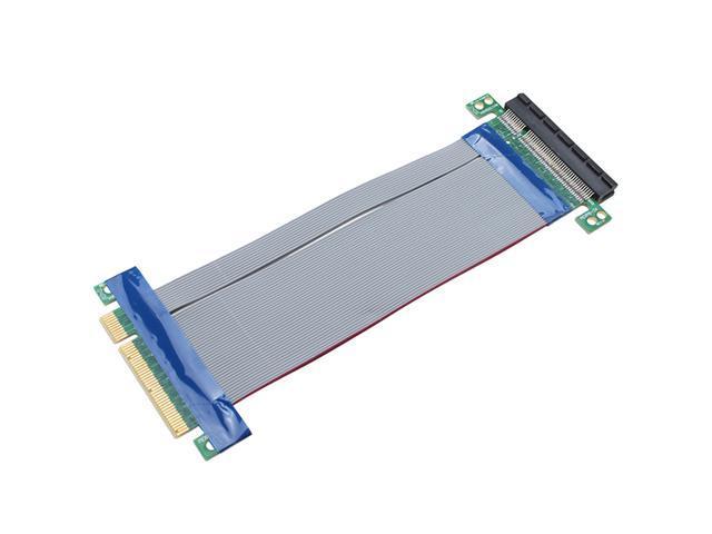PCI-e 8X Slot Riser Card Extender Extension Cable Flexible Cable