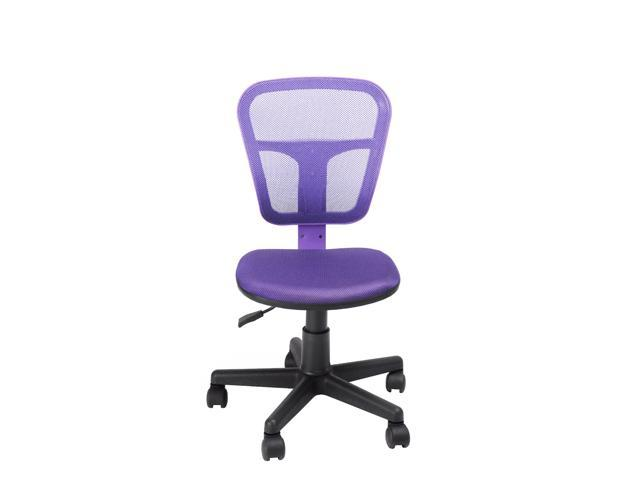 Ergonomically Office Task Computer Chair Mesh Fabric Pads Swivel Seat - Adjustable