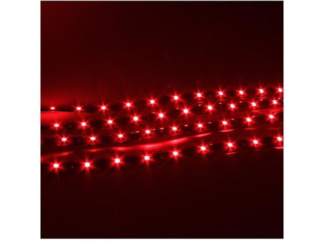 Car Motorcycle Styling Flexible LED Waterproof Light Strip 4x30cm Red